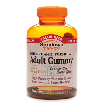 Sundown Naturals Multivitamin Adult Gummy Orange
