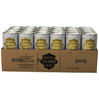 Kombucha Wonder Drink, Asian Pear and Ginger Fermented Tea, 8.4oz Can (Pack of 24)