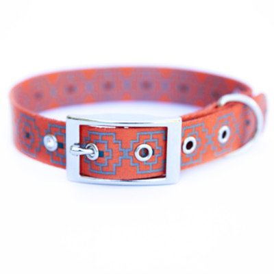 Kiss My Mutt Geo Print Dog Collar