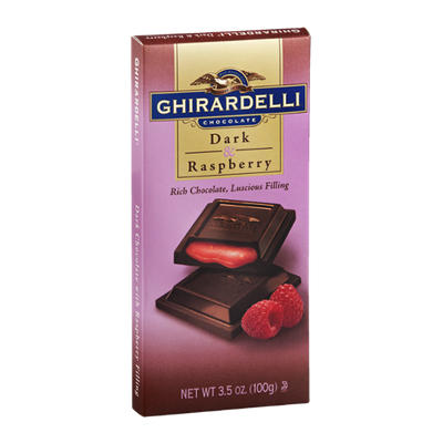 Ghirardelli Chocolate Dark & Raspberry Bar