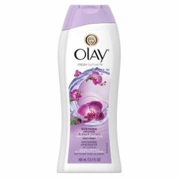 Olay Fresh Outlast Body Wash, Soothing Orchid & Black Currant, 13.5 fl oz