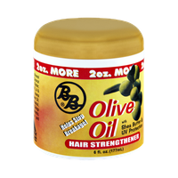 BB Olive Oil with Shea Butter & UV Protection Hair Strengthener