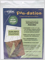 Cotswold Industries Fun-Dation Quilt Block Piecing Material-8-1/2