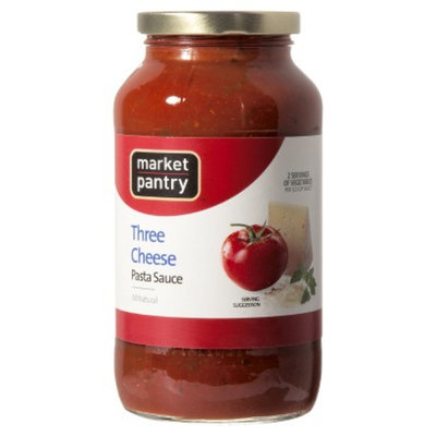 market pantry Market Pantry Three Cheese Pasta Sauce 26 oz