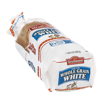 Stroehmann Whole Grain White Bread