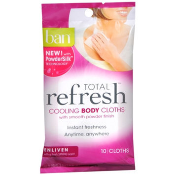 ban Ban Total Refresh Cooling Body Cloths - Enliven