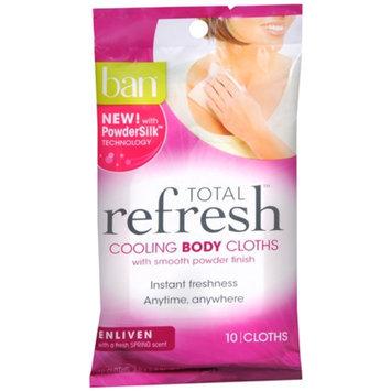 ban Ban Total Refresh Cooling Body Cloths - Enliven