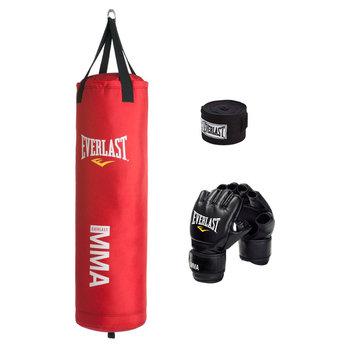 Everlast MMA 70 lbs. Heavy Bag Kit - Red