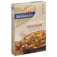 Barbara's Bakery High Fiber Cereal Cranberry,6 Pack
