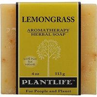 Plantlife Lemongrass 100% Pure & Natural Aromatherapy Herbal Soap 4 oz 113g