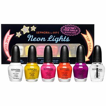 SEPHORA by OPI Neon Lights Mini Set 6 x 0.12 oz