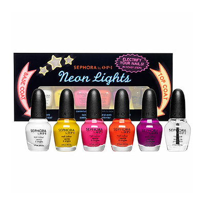 SEPHORA by OPI Neon Lights Mini Set 6 x 0.12 oz
