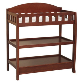 Delta Children Changing Table - Dark Cherry
