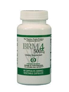 Daiwa Health Development - BRM4 Immune Support Formula 500 mg. - 60 Vegetarian Capsules