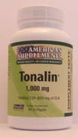 Tonalin 1000 MG No Chinese Ingredients American Supplements 90 Softgel