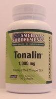 Tonalin 1000 MG No Chinese Ingredients American Supplements 90 Softgel