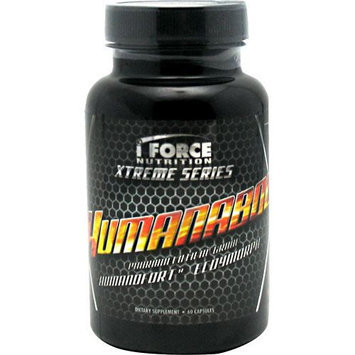 Iforce Nutrition7647596611 iForce Humanabol, Lean Muscle Gains, 60 Capsules, i Force Nutrition