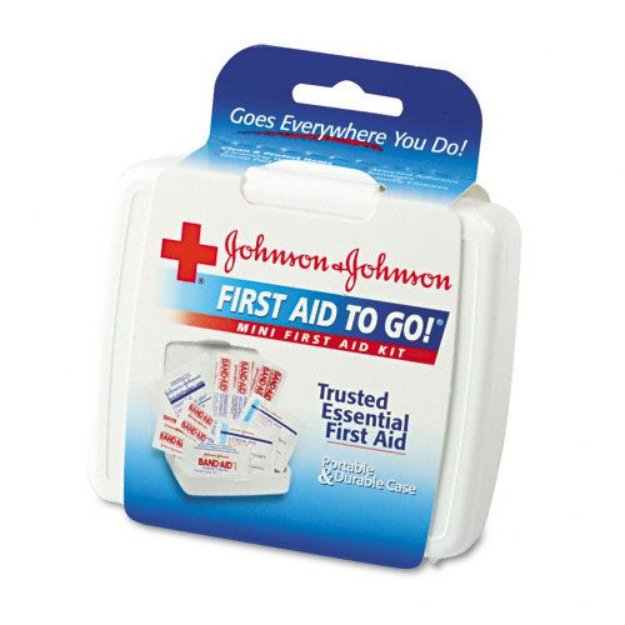 Johnson & Johnson Mini First Aid Kit