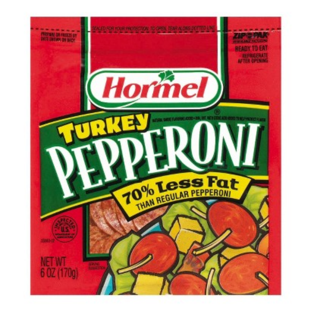 Hormel Turkey Pepperoni Slices 6 oz