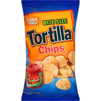 Walmart Stores Inc Great Value Bite Size Tortilla Chips, 13 oz