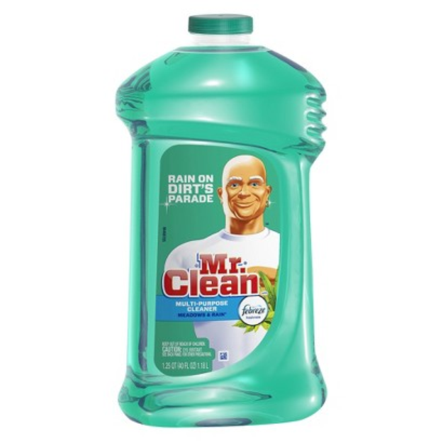 Mr. Clean Febreze Meadows & Rain Scent Multi-Purpose Cleaner 40 oz