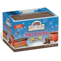 Grove Square Hot Cocoa Cups Variety Pack, Single Serve Cup for Keurig K-Cup Brewers, 12-Count