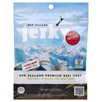 New Zealand Jerky JERKY, BEEF, PEPPERED, (Pack of 8)