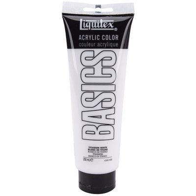 Reeves Liquitex Basics Acrylic Paint, Titanium White