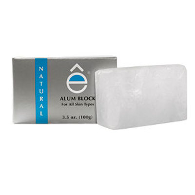 eshave Natural Alum Block