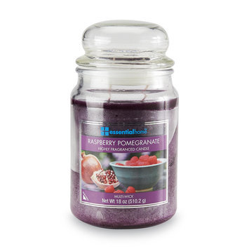 Essential Home 18 Ounce Jar Candle Raspberry Pomegranate - LANGLEY PRODUCTS L.L.C.