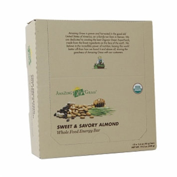 Amazing Grass Green Superfood Energy Bar, Sweet & Savory, 12 ea