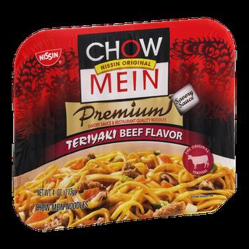 Nissin Chow Mein Premium Teriyaki Beef Chow Mein Noodles