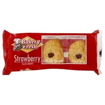 Bakery Fresh Soft Strawberry Cookie, 8.25-Ounce (Pack of 18)