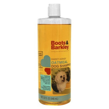 Boots & Barkley Sweet Honey Oatmeal Dog Shampoo 32 oz