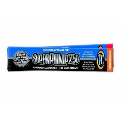 Gaspari Nutrition Super Pump 250, Orange, 20g Packets, 20-Count