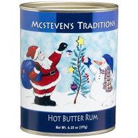 Mcstevens McSteven's Traditions Hot Butter Rum, 6.25-Ounce Tins (Pack of 3)