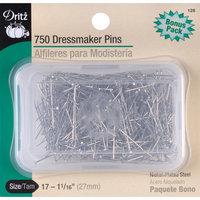 Dritz 126 Dressmaker Pins-Size 17 750-Pkg
