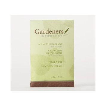 Upper Canada Gardeners Herbal Mint Foaming Bath Soak