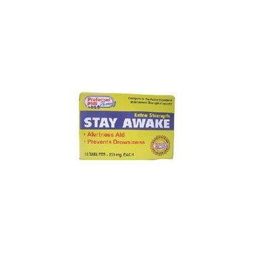 Preferred Plus Stay Awake Alertness Aid with Caffeine, Extra Strength 200 mg Tablets for Drowsiness - 16 ea