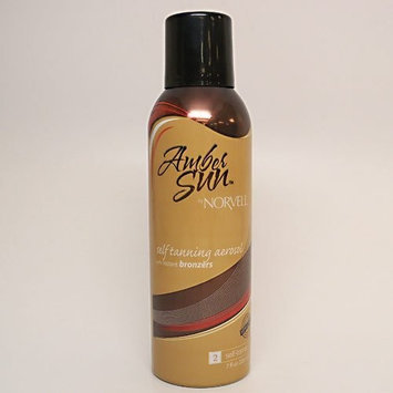Norvell Amber Sun Sunless Tanning Aerosol Spray with Bronzer 7 Oz