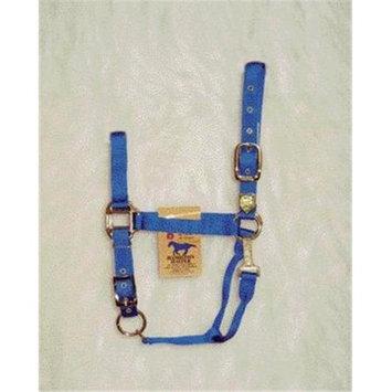 Hamilton Halter Company - Adjustable Chin Halter With Snap- Blue Average - 1DAS