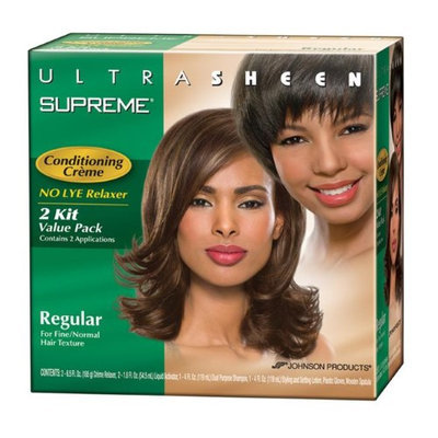 Ultra Sheen Ultra Sheen Supreme No-Lye Conditioning Relaxer Regular- Case of 6