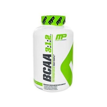 MusclePharm BCAA 3:1:2 Amino Acid Complex Lean 240 Capsules Muscle Growth