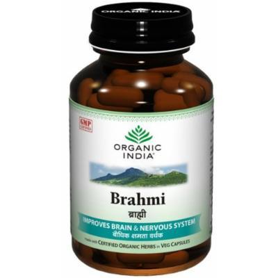 Organic India Brahmi - 60 Capsules