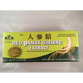 Royal King - Red Panax Ginseng Extract 6000mg (30 Vials X 10ml) - 2 Boxes