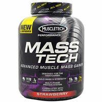 Mass Tech By MuscleTech, Weight Gainer, Strawberry 7lb