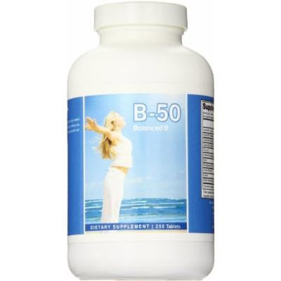 Eden Pond B-50 Pure Formula with Extreme Potency Supplement, 250 Count