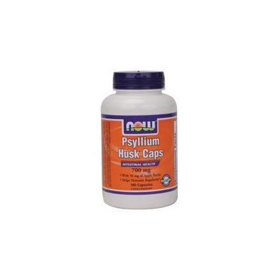 Now Foods Psyllium Husk, 180 Caps 700mg w/PECTIN (Pack of 2)
