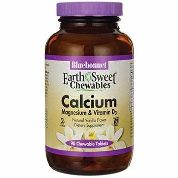 Bluebonnet Nutrition Earthsweet Chewables Calcium Magnesium & Vitamin D3 - V 90 Chwbls