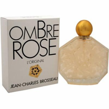 Jean Charles Brosseau Ombre Rose for Women Eau de Toilette, 3.4 oz